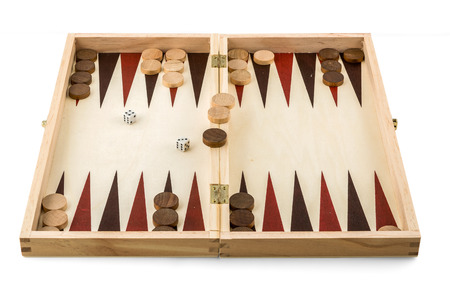 backgammon: backgammon box set - wooden game toy