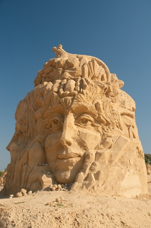 2nd sand statues festival in Bourgas, Bulgaria - 2009>