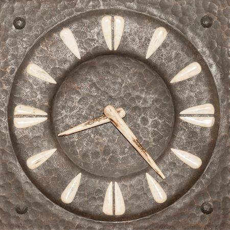 troyan: Old tower clock display - from Troyan Region in Bulgarian