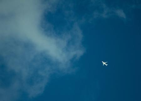 The plane photo
