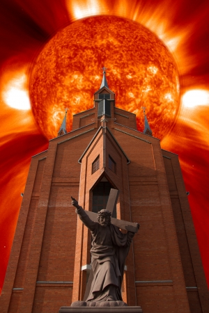 Christian prophecy of doom and apocalypse Stock Photo - 17994724