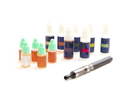 liquid and e-cigarette