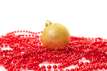Christmas balls fir cones Stock Photo - 24221300