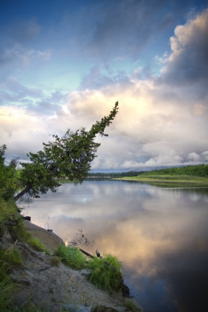 nature of Siberia and the Yamal photo