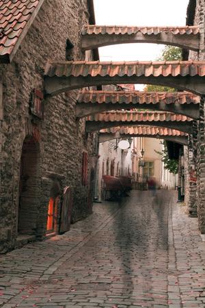 haunted streets of Tallinn