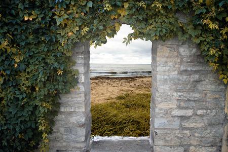 door to the sea