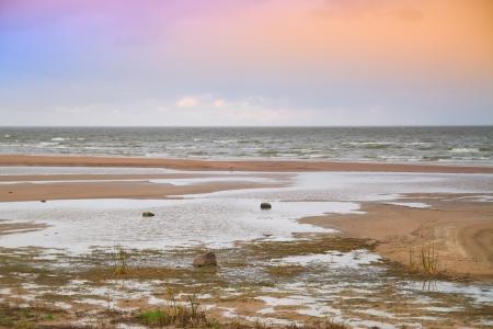 Late autumn at the sea Stock Photo - 25518251