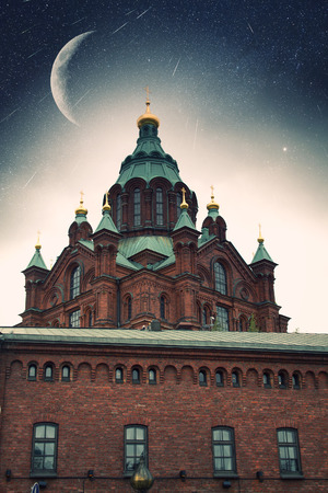 Uspensky Cathedral in Helsinki. photo