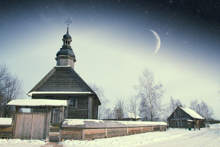 18th: authentic 18th century village in Russia.