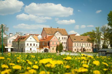 residential settlement: Nyamiha in Minsk. Belarus. Stock Photo
