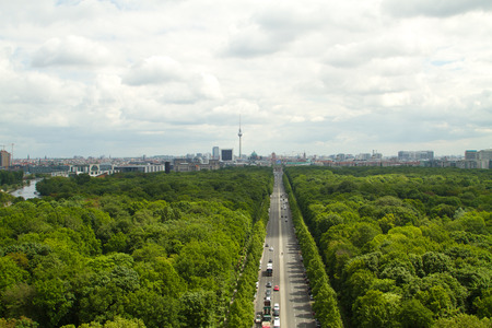 über Berlin Lizenzfreie Bilder