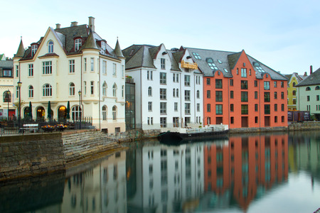 olden: The Norwegian town of Aalesund. beautiful places in Europe.