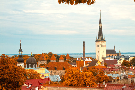 picturesque and very beautiful HDR photos of Tallinn photo