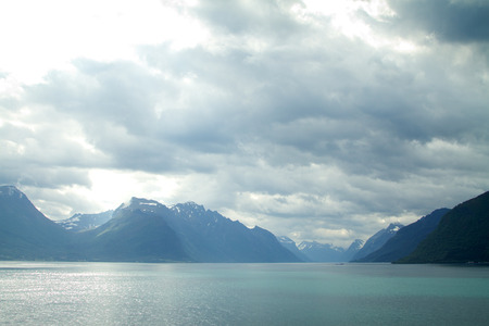 neroyfjord: scenic landscapes of the northern Norwegian fjords.