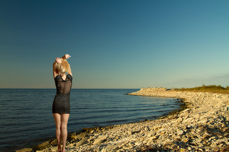 Baltic Sea in summer. beautiful places in Europe photo
