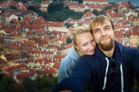 Honeymoon. Prague through the eyes of birds
