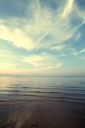 waterscape: Sea day. beautiful ocean landscape