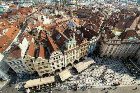 unesco in czech republic: Most mystical and mysterious city in Europe. Prague through the eyes of birds