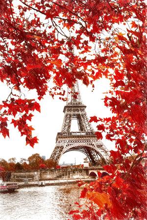 Window to Paris. Architecture of Paris .France. Europe