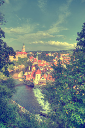 krumlov: Cesky Krumlov. Beautiful Czech fabulous city