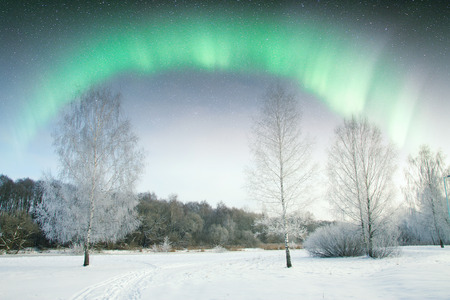 ionosphere: Northern Lights. Elements of this image furnished by NASA