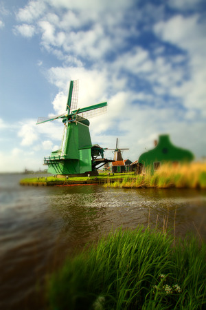 windmills: Traditional dutch windmills Editorial