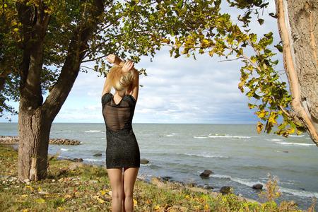 baltic sea: Baltic sea in autumn Stock Photo