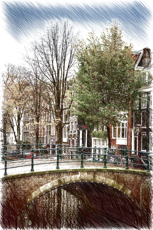 amsterdam: Amsterdam. beautiful places in Europe