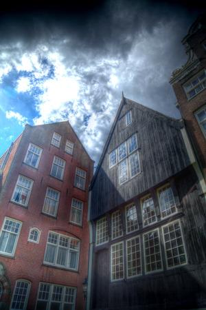 municipal court: courtyard of Amsterdam. historical monument begijnhof Stock Photo