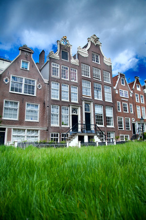 municipal court: World famous historic Begijnhof is one of the oldest inner courts in the city of Amsterdam. Begijnhof was founded during the middle Ages. Netherlands.