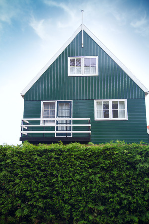 marken: old fishing village of Marken in the Netherlands. Close to Amsterdam. Authentic life