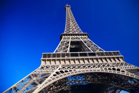 throughout: Eiffel Tower symbol of Paris and throughout France.