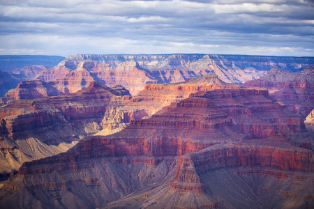 famous  view of Grand Canyon , Arizona, USA