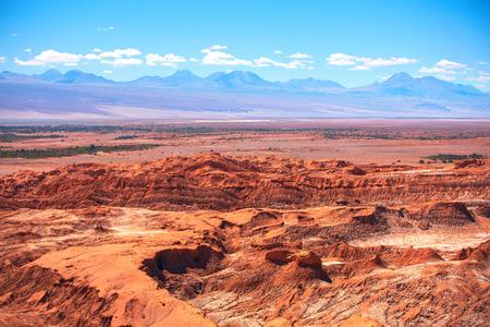 LUNA: Valle de la Luna (Moon Valley) close to San Pedro de Atacama, Chile