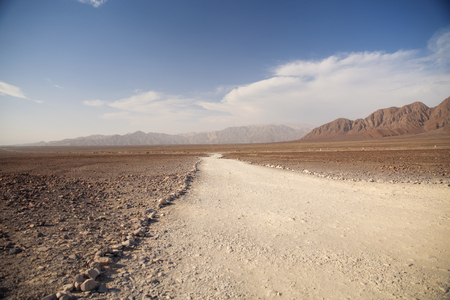 morphology: Andes in the Nazca desert. Peru . One of the hottest places on the planet. Stock Photo