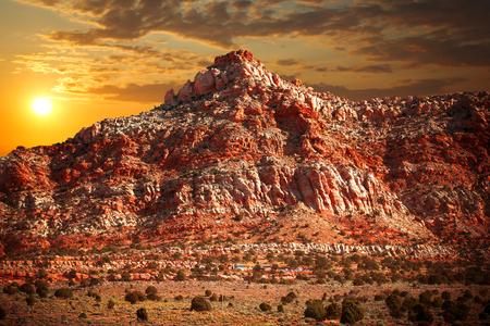 famous  view of Grand Canyon , Arizona, USA