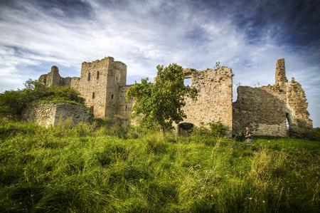 earlier: Estonia. Toolse. Ruins of a castle .  Earlier Tolsburg or Vredeborch