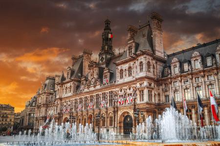ville: France. Paris City Hall (Hotel de Ville)