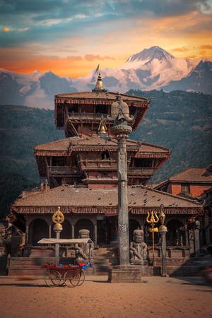 Patan .Ancient city in Kathmandu Valley. Nepal Editorial
