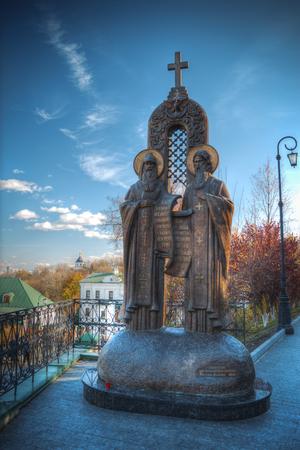 View of Kiev Pechersk Lavra, the orthodox monastery included in the UNESCO world heritage list. Ukraine
