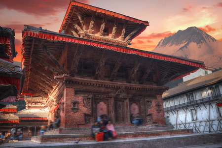Patan .Ancient city in Kathmandu Valley. Nepal Stock Photo