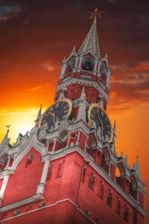 spasskaya: Kremlin - a fortress in the center of Moscow, the main socio-political, historical and artistic complex of the city, the official residence of the President of the Russian Federation