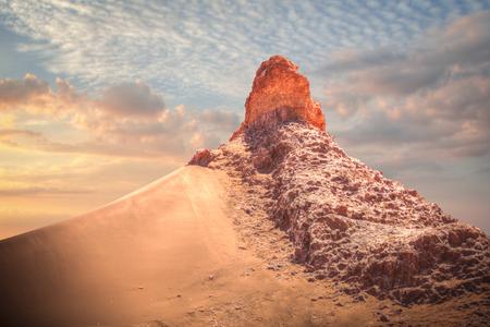 Valle de la Luna (Moon Valley) in der Nähe von San Pedro de Atacama, Chile