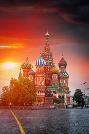 Red square in the center of Moscow. Russian Federation Editorial