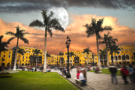 Lima is a city on the Pacific coast of South America, the capital of the Republic of Peru.