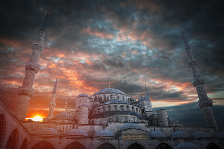 Blue Mosque or the Sultanahmet Mosque is the first mosque in Istanbul.