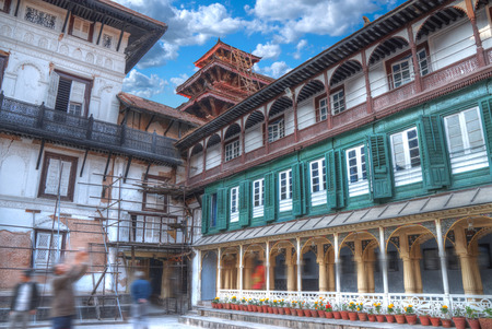 Patan .Ancient city in Kathmandu Valley. Nepal Stock Photo