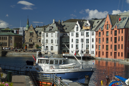 Alesund is a city in Norway. Northern Europe
