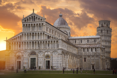 Leaning Tower of Pisa. Italy. Europe