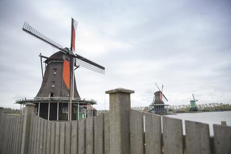 the village of Zaanse Schans near Amsterdam. Netherlands